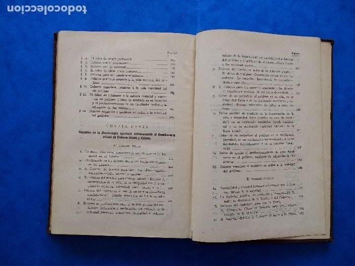 Libros antiguos: DEONTOLOGÍA. DEBERES ÉTICOS Y CÍVICOS. ELOY LUIS ANDRÉ. SUCESORES DE RIVADENEYRA. MADRID, 1928. - Foto 12 - 194184105