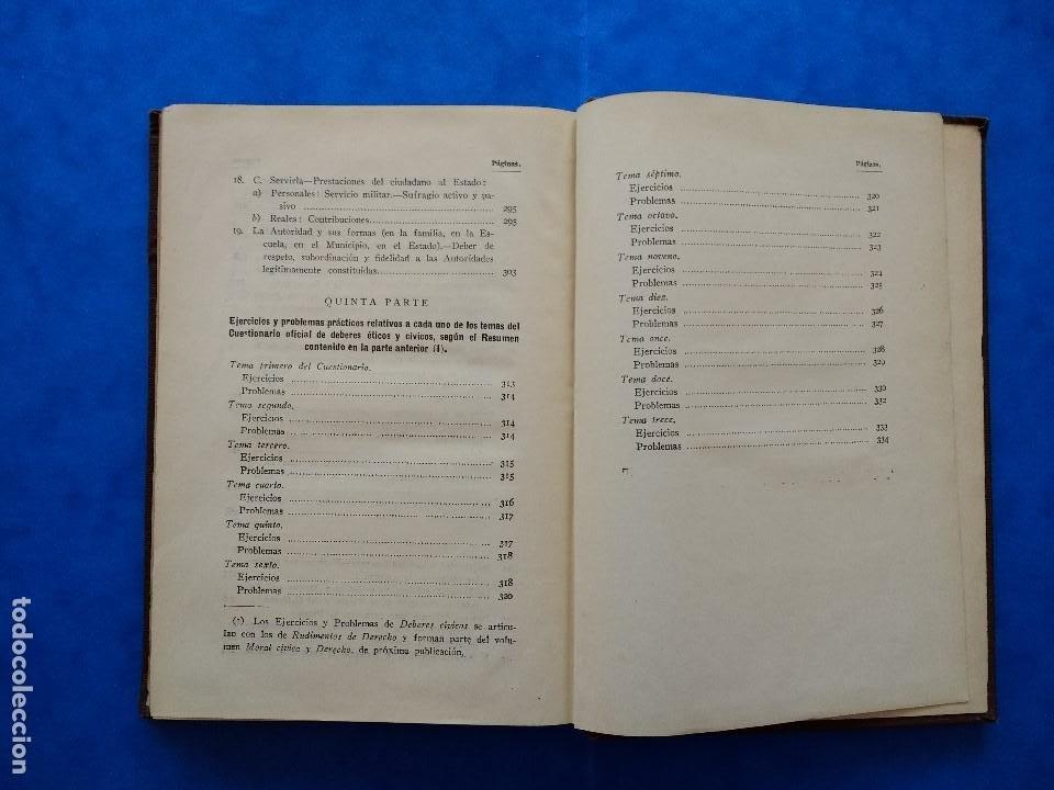 Libros antiguos: DEONTOLOGÍA. DEBERES ÉTICOS Y CÍVICOS. ELOY LUIS ANDRÉ. SUCESORES DE RIVADENEYRA. MADRID, 1928. - Foto 13 - 194184105
