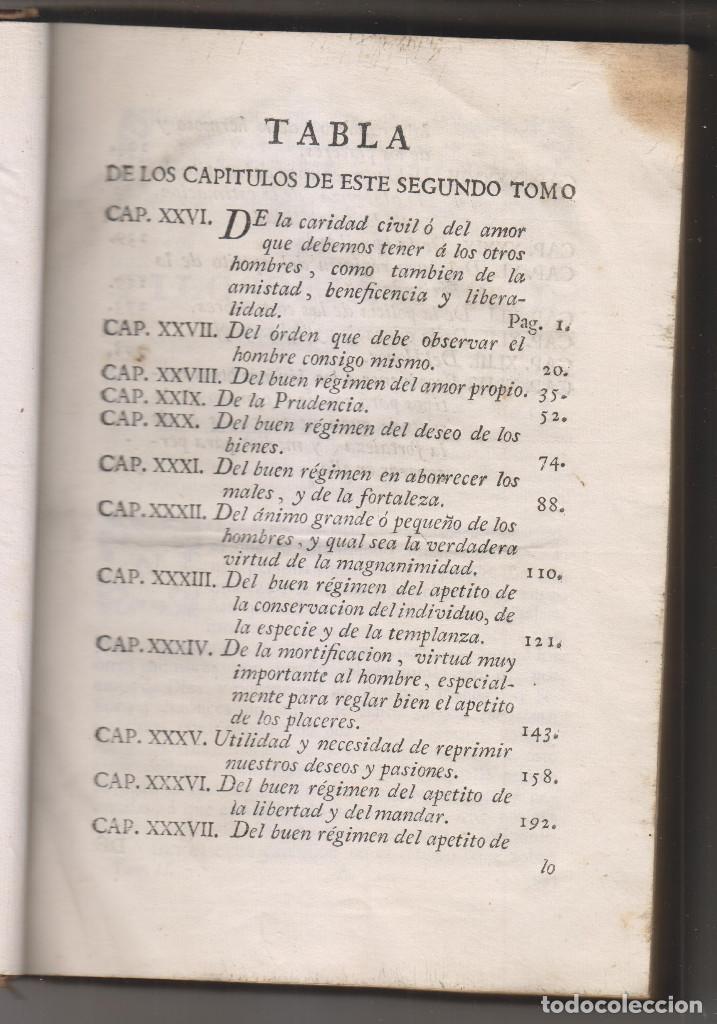 Libros antiguos: LUIS ANTONIO MURATORI: LA FILOSOFÍA MORAL DEDICADA A LA JUVENTUD. TOMO II. MADRID, 1787 - Foto 2 - 194219482