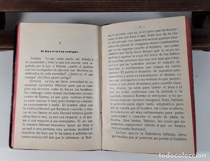 Libros antiguos: LEY NATURAL. DIÁLOGO ENTRE OCTAVIO Y SALESIO. J. GRANÉS. IMP. MODERNA. 1926. - Foto 8 - 183763878
