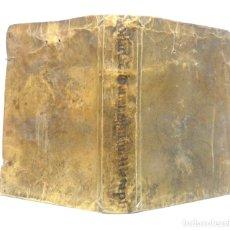 Libros antiguos: SALAMANCA, 1750 - LIBRO ANTIGUO DE FILOSOFÍA Y COSMOLOGÍA - LUIS DE LOSADA - PERGAMINO, SIGLO XVIII. Lote 194860045