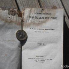 Libros antiguos: CONFESIONES SAN AGUSTIN. Lote 194922887