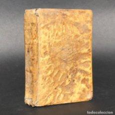 Libros antiguos: 1758 ESCUELA DE PRINCIPES Y CAVALLEROS - PERGAMINO - MORAL - ECONÓMICA - POLITICA - LOGICA - FISICA. Lote 195354627