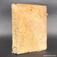 Libros antiguos: 1820 - PHILOSPHIA - SANTO TOMÁS DE AQUINO - PERGAMINO - FISICA - NEWTON. Lote 195388487