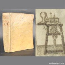 Libros antiguos: 1800 PHILOSOPHIA THOMISTICA - PERGAMINO - ASTRONOMIA - OPTICA - BIOLOGIA - FOSILES. Lote 195388801