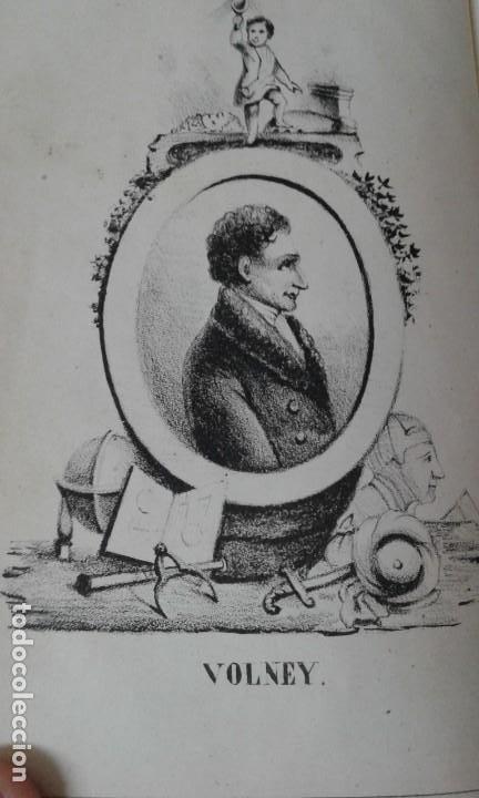 Libros antiguos: LAS RUINAS O MEDITACION SOBRE LAS REVOLUCIONES DE LOS IMPERIOS VOLNEY 1844 - Foto 5 - 195771532