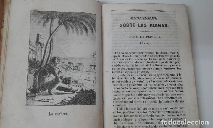 Libros antiguos: LAS RUINAS O MEDITACION SOBRE LAS REVOLUCIONES DE LOS IMPERIOS VOLNEY 1844 - Foto 6 - 195771532