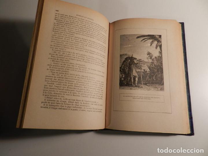 Libros antiguos: VOLTAIRE ROMANS ET CONTES - .ILUSTRADO POR MOREAU LE JEUNE PARIS LIBRARIE DELAGRAVE 1932 - Foto 7 - 195966936