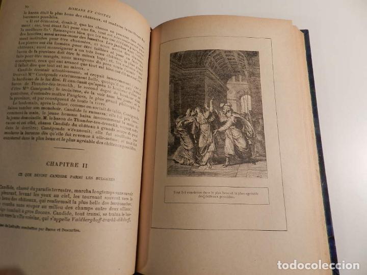 Libros antiguos: VOLTAIRE ROMANS ET CONTES - .ILUSTRADO POR MOREAU LE JEUNE PARIS LIBRARIE DELAGRAVE 1932 - Foto 8 - 195966936