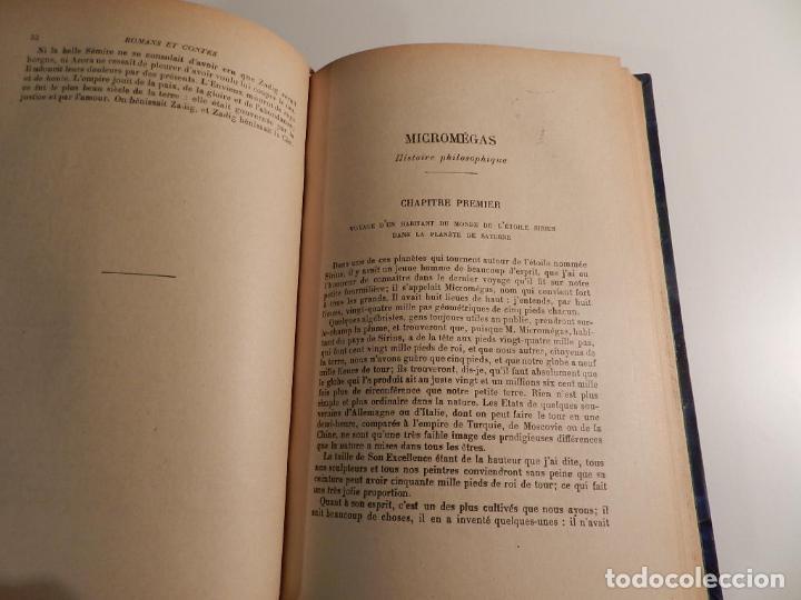 Libros antiguos: VOLTAIRE ROMANS ET CONTES - .ILUSTRADO POR MOREAU LE JEUNE PARIS LIBRARIE DELAGRAVE 1932 - Foto 9 - 195966936