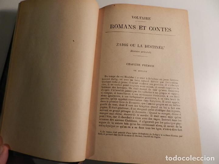 Libros antiguos: VOLTAIRE ROMANS ET CONTES - .ILUSTRADO POR MOREAU LE JEUNE PARIS LIBRARIE DELAGRAVE 1932 - Foto 10 - 195966936