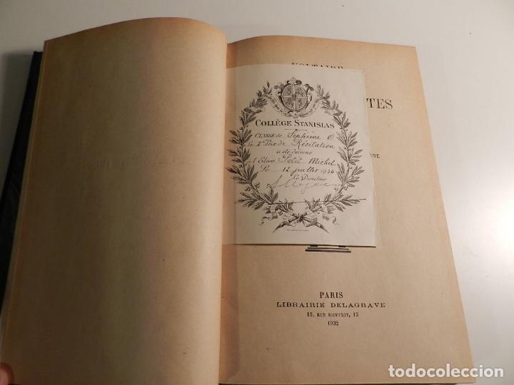 Libros antiguos: VOLTAIRE ROMANS ET CONTES - .ILUSTRADO POR MOREAU LE JEUNE PARIS LIBRARIE DELAGRAVE 1932 - Foto 6 - 195966936