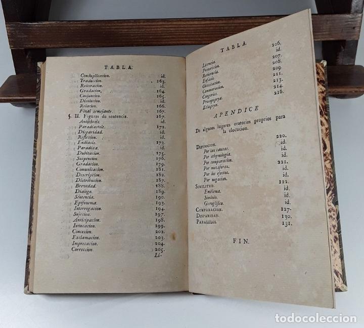 Libros antiguos: FILOSOFÍA DE LA ELOQUENCIA. A. DE CAPMANY. IMP. ANTONIO DE SANCHA. MADRID. 1778. - Foto 7 - 197638223