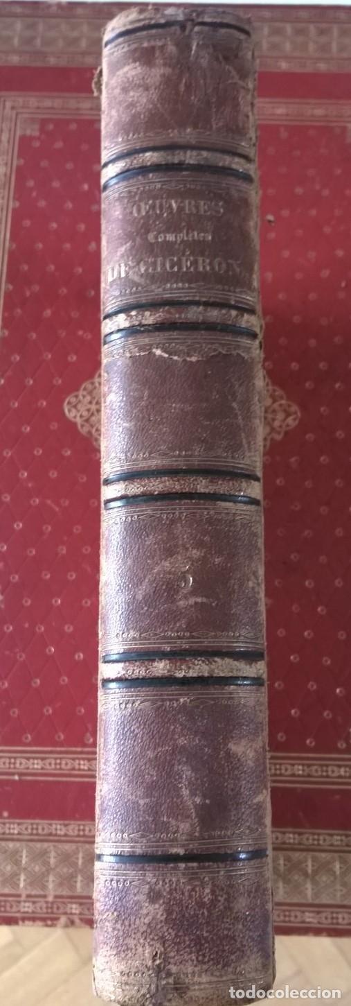Libros antiguos: OUVRES COMPLETES DE CICERON. TOME CINQUIÉME . EDITEUR J.J. DUBOCHET. PARIS 1841 - Foto 2 - 197941575