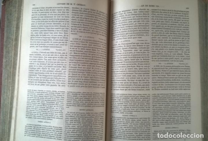 Libros antiguos: OUVRES COMPLETES DE CICERON. TOME CINQUIÉME . EDITEUR J.J. DUBOCHET. PARIS 1841 - Foto 6 - 197941575