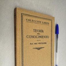 Libri antichi: CIENCIAS FILOSÓFICAS / PROF. MAX WENTSCHER / COLECCIÓN LABOR - ED. LABOR 1927. Lote 198087612