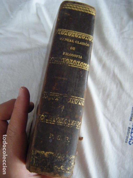 Libros antiguos: JML 1843 Psicología - MANUAL CLÁSICO DE FILOSOFÍA - SERVANT BEAUVAIS - José López de Uribe y Osma - Foto 4 - 198725101