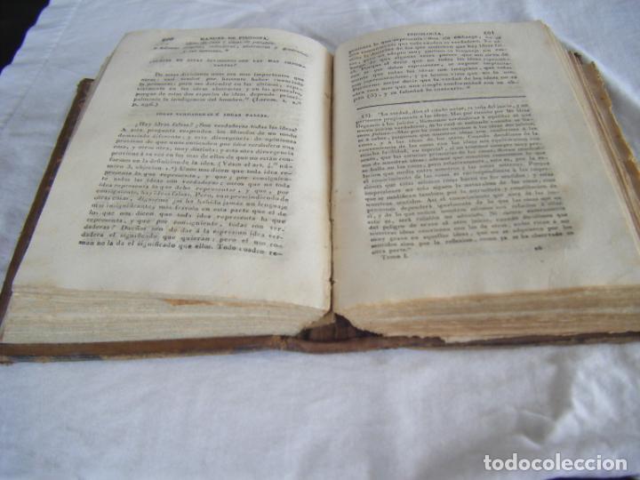 Libros antiguos: JML 1843 Psicología - MANUAL CLÁSICO DE FILOSOFÍA - SERVANT BEAUVAIS - José López de Uribe y Osma - Foto 9 - 198725101