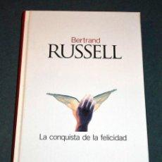 Libros antiguos: LIBRO LA CONQUISTA DE LA FELICIDAD, DE BERTRAND RUSSELL. Lote 199456281
