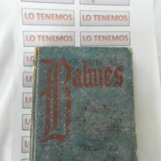Libros antiguos: CURSO E FILOSOFIA ELEMENTAL I ETICA METAFISICA , JAIME BALMES. Lote 199747166