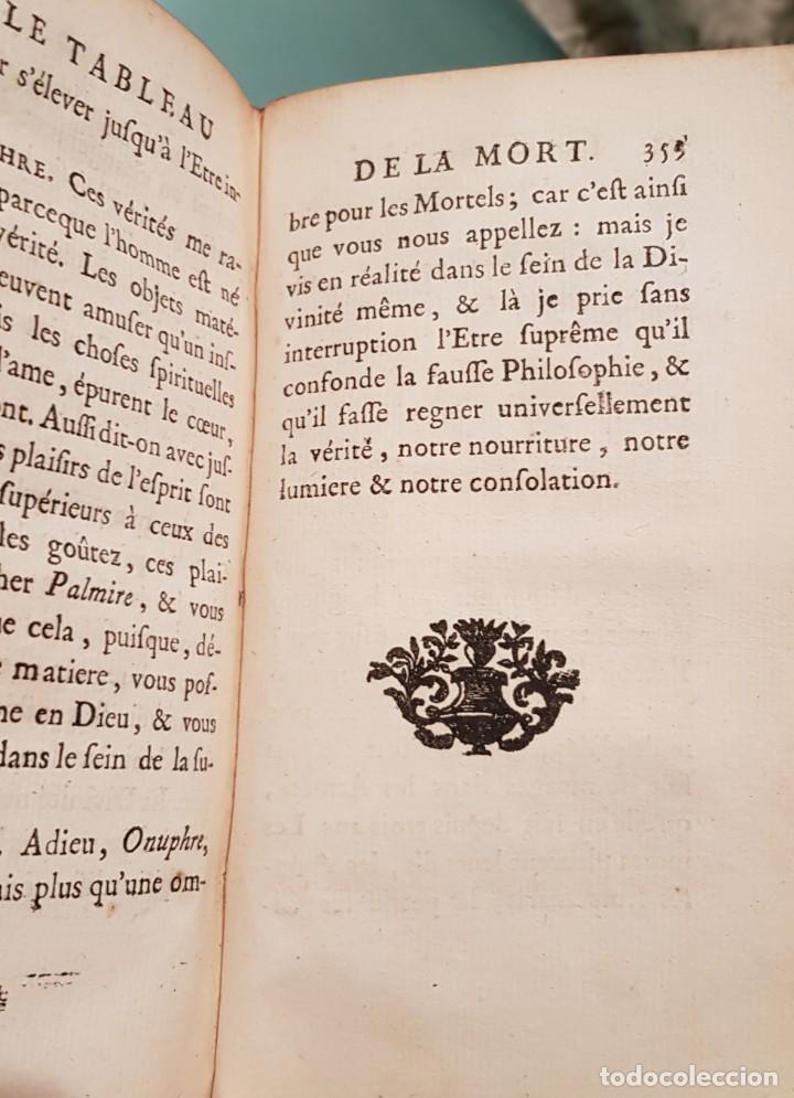 Libros antiguos: Le tabeau de la morte. Fráncfort 1761 - Foto 5 - 201639322