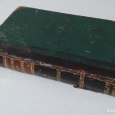 Libros antiguos: COLECCION DE REFRANES ADAGIOS Y LOCUCIONES PROVERBIALES 1828 MUY RARO. Lote 203791276