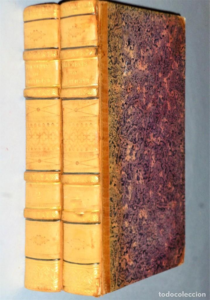 Libros antiguos: ELEMENTS OF CRITICISM. 2 TOMOS - Foto 2 - 204383010