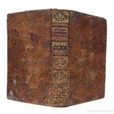 Livres anciens: 1767 - LIBRO ANTIGUO DE FILOSOFÍA EN LATÍN - LÓGICA, METAFÍSICA, PRINCIPIOS, CAUSAS. +250 AÑOS. Lote 204613361