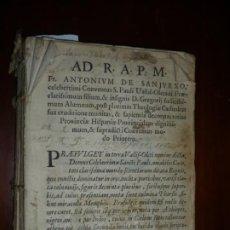 Libros antiguos: PHYLOSOPHIA NATURALIS PER QUAESTIONES FROYLAN DIAZ 1695 VALLADOLID. Lote 204845030