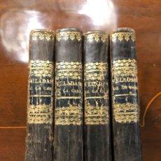Libros antiguos: LAS VELADAS DE LA CABAÑA O LECCIONES DE UN PADRE ANCIANO. Lote 205760496