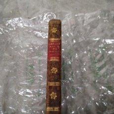 Libros antiguos: 1794? MANUAL CLÁSICO DE FILOSOFÍA PARTE SEGUNDA - SERVANT BEAUVAIS - ENCUADERNADO EN PLENA PIEL. Lote 205762931