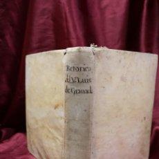 Libros antiguos: LOS SEIS LIBROS DE LA RHETORICA ECLESIÁSTICA - 1770. Lote 207468015