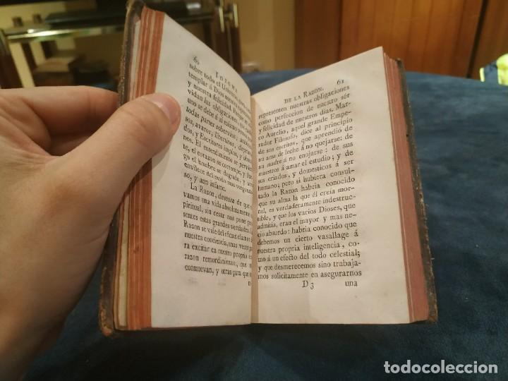Libros antiguos: 1.776. Idioma de la Razón Contra los Falsos Filósofos Modernos - Marqués Caracciolo - Foto 5 - 207906367