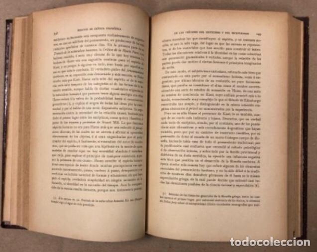 Libros antiguos: OBRAS COMPLETAS DE MARCELINO MENÉNDEZ Y PELAYO. ENSAYOS DE CRÍTICA FILOSÓFICA. EDITADO EN 1918 - Foto 6 - 208320207