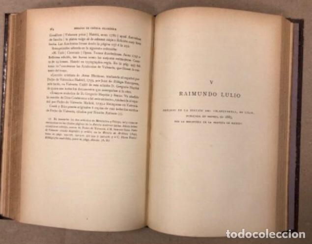 Libros antiguos: OBRAS COMPLETAS DE MARCELINO MENÉNDEZ Y PELAYO. ENSAYOS DE CRÍTICA FILOSÓFICA. EDITADO EN 1918 - Foto 9 - 208320207