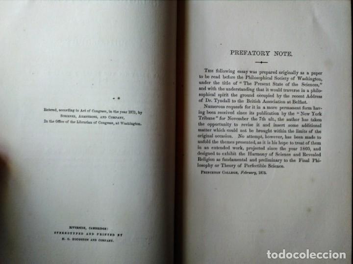 Libros antiguos: Libro antiguo Religión y Ciencia en Inglés - Foto 4 - 213109871