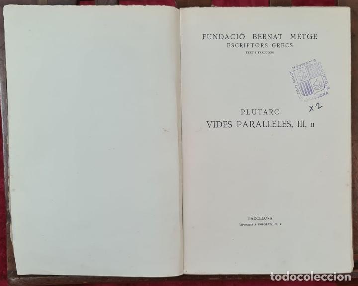 Libros antiguos: COLECCION DE 127 VOLUMENES. FUNDACION BERNAT METGE. EMPORIUM. SIGLO XX. - Foto 2 - 213545240