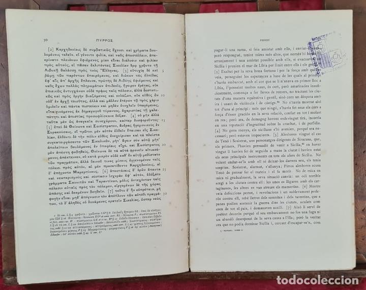 Libros antiguos: COLECCION DE 127 VOLUMENES. FUNDACION BERNAT METGE. EMPORIUM. SIGLO XX. - Foto 5 - 213545240