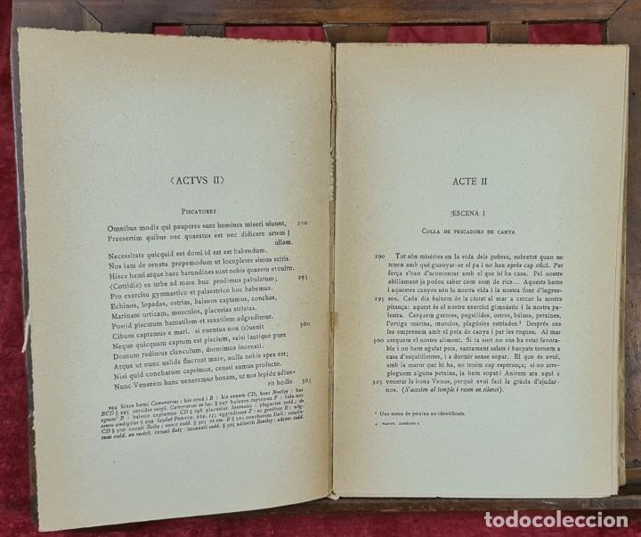 Libros antiguos: COLECCION DE 127 VOLUMENES. FUNDACION BERNAT METGE. EMPORIUM. SIGLO XX. - Foto 7 - 213545240