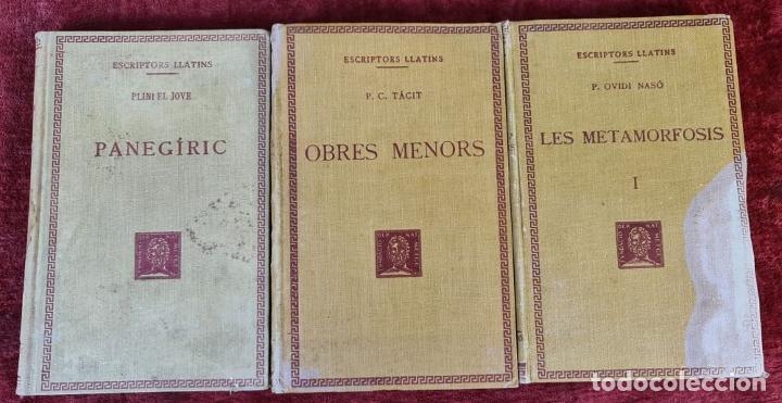 Libros antiguos: COLECCION DE 127 VOLUMENES. FUNDACION BERNAT METGE. EMPORIUM. SIGLO XX. - Foto 9 - 213545240