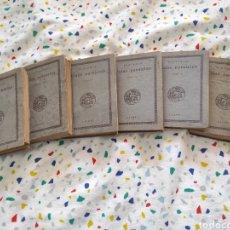 Livros antigos: PLUTARCO. VIDAS PARALELAS 6 TOMOS AÑO 1921 EDITORIAL CALPE. Lote 213882406