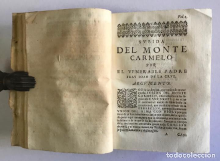 Libros antiguos: OBRAS DEL VENERABLE Y MISTICO DOTOR F. ... PRIMER DESCALÇO Y PADRE DE LA REFORMA DE NTRA SRA... 1635 - Foto 4 - 145044506