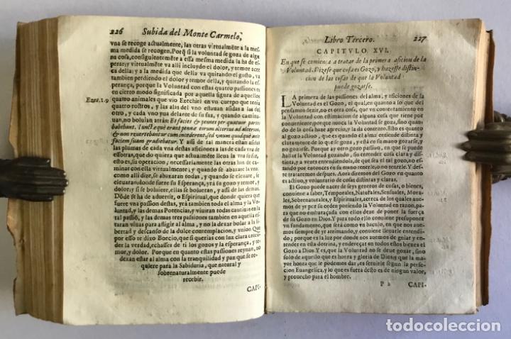 Libros antiguos: OBRAS DEL VENERABLE Y MISTICO DOTOR F. ... PRIMER DESCALÇO Y PADRE DE LA REFORMA DE NTRA SRA... 1635 - Foto 8 - 145044506