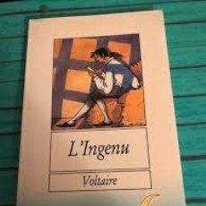 Libri antichi: L'INGENU. VOLTAIRE. Lote 218501873