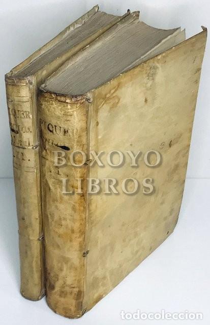 PHILOSOPHIA MORAL PARA LA JUVENTUD ESPAÑOLA, COMPUESTA POR EL DR. ANDRÉS PIQUER. 2 TOMOS. 1787-88 (Libros Antiguos, Raros y Curiosos - Pensamiento - Filosofía)