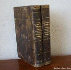 Libros antiguos: ESTUDIOS FILOSOFICOS SOBRE EL CRISTIANISMO – AUGUSTO NICOLAS – TOMO I Y II SEGUNDA EDICION 1854. Lote 222200835