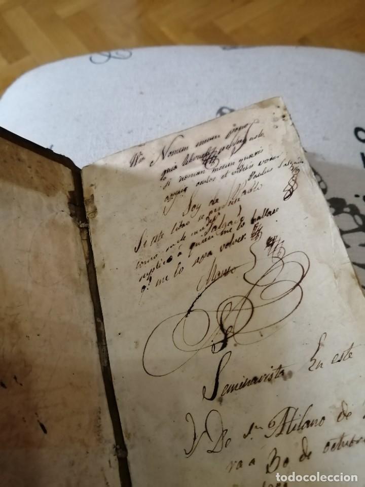 Libros antiguos: INSTITUTIONUM ELEMENTARIUM PHILOSOPHIAE. AB ANCREA DE GUEVARA. TOMUS PRIMUS. MATRI - Foto 2 - 222276926