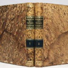 Libros antiguos: TRATADOS FILOSÓFICOS. LUCIO ANNEO SÉNECA. NAVARRO Y CALVO (TRAD.). 2 VOLS. MADRID. NAVARRO ED. 1884.. Lote 222448328