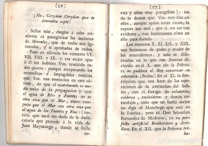Libros antiguos: CARTAS, OBSERVACIONES Y DISERTACIONES SOBRE ALGUNAS BAGATELAS Y PARVULECES IMPRESAS EN MADRID 1783 - Foto 3 - 222453516