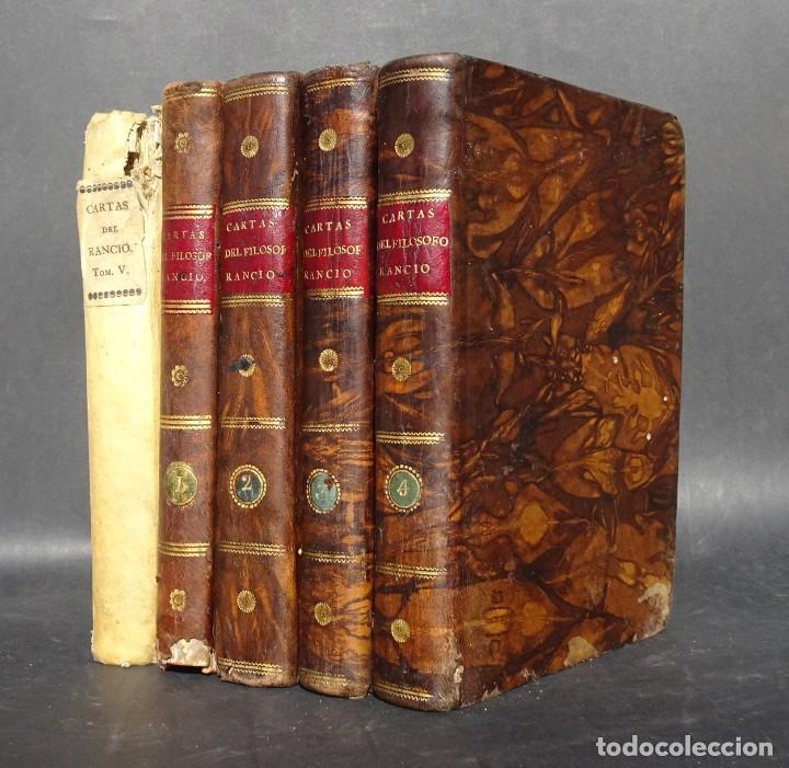 1824 CARTAS CRITICAS QUE ESCRIBIO EL FILOSOFO RANCIO - MARCHENA - SEVILLA (Libros Antiguos, Raros y Curiosos - Pensamiento - Filosofía)